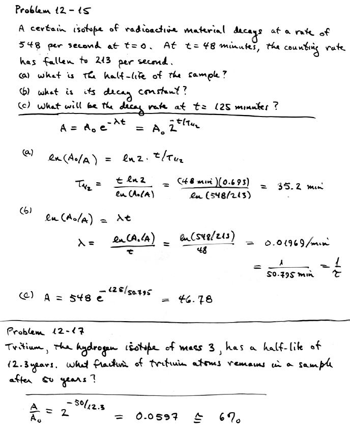 Carbon dating exponential decay formula algebra 1